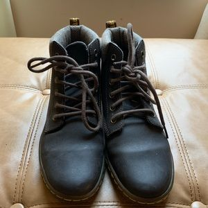 Dark brown Doc Martens